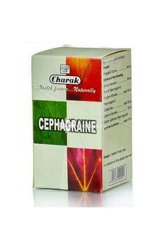 Charak CEPHAGRAINE - Πονοκέφαλος / Ημικρανία / Ρινίτιδα, 100 Tαμπλέτες