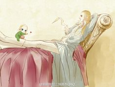 Thranduil and legolas by 玥玥修行中 #sorry i'm not sorry about my elf problem