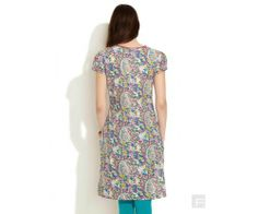 Ditsy Floral Print Kurta With Sequin Yoke : http://lamora.in/kurtis/ditsy-floral-print-kurta-with-sequin-yoke.html?limit=100