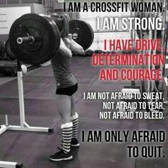 Afraid to Quit!