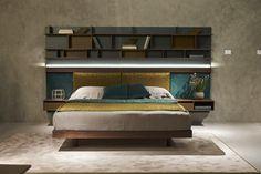 Fimes, Salone del Mobile 2017, Milano #bed #nightstand #bedroom #closet #slidingdoors #leafdoors #interiordesign #design #modern #contemporary #madeinitaly #salonedelmobile #fieradelmobile #isaloni #fieramilano #luxury #glamour #artdeco #fimes #fieramilano2017 #ilsalonedelmobile2017 #milanodesignweek2017