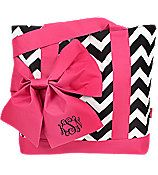 Personalized Bow chevron handbag/purse/tote by sewsassybootique, $25.95