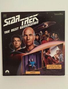 Star Trek Next Generation Ep 5 Haven Ep 6 Where No One Has Gone Before Laserdisc | DVDs & Movies, Laserdiscs | eBay!