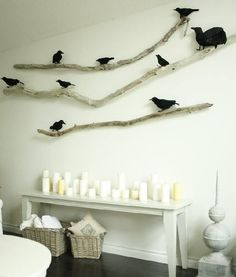 Branches and crows - simple but awesome!
