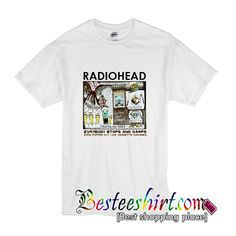 Radiohead Colored In Drawing T-Shirt from besteeshirt.com This t-shirt is Made To Order, one by one printed so we can control the quality.