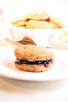 Half Whole Wheat Biscuits - My Vegan Cookbook - Vegan Baking Cooking Recipes Tips