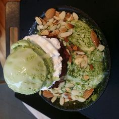 Green Tea Bingsu Get access to a 1000 recipes at http://fingerlickingrestaurantrecipes.weebly.com  #dessert