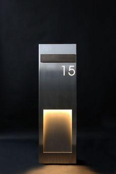 hausnummer mit beleuchtung cool pic der dedbdaabadcbde mailbox corten