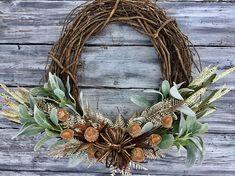 Fall Wreath Fall Decor Front Door Wreath Farmhouse Wreath