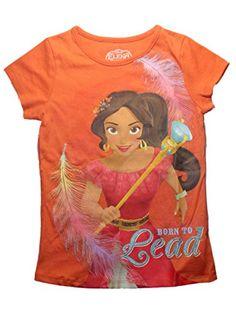 Disney Elena of Avalor Girls Shirt - Born to Lead