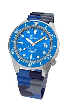 """Squale - rhymes with """"ale"""". Overbuilt Swiss diving watches!"""