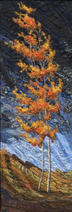 Autumn Fire #3 by Lorraine Roy