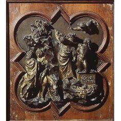 Formella di Lorenzo Ghiberti per il concorso del 1401.
