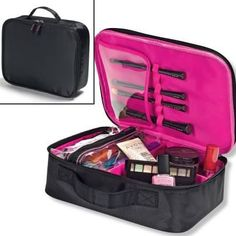 How you do you store your makeup stash? a) A little bit here & there. b) Clear plastic bags. c) An old makeup bag. rethink it with this Essential Makeup Organizer Case. Perfect for home or travel. To register with me in Canada go to   and enter Brigitte Giunta has your Rep and if you wish to sell avon please email me b_giunta@hotmail.com For US you can register but the order must come to me and then be parcel posted to you. Payments are made by email transfers thank you.
