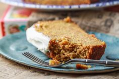 Carrot Cake Loaf with Thick Cream Cheese Frosting