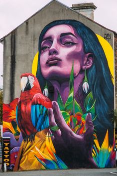 Ten pieces of Belfast street art you don't want to miss Urban Street Art, Best Street Art, Amazing Street Art, 3d Street Art, Street Artists, Graffiti Artists, Grafitti Street, Murals Street Art, Mural Art