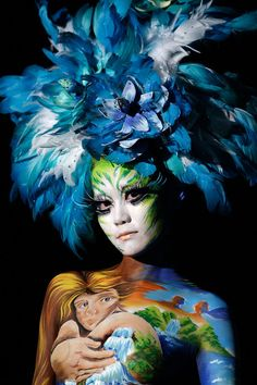 Incredible and Magnificent Body Painting Art