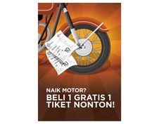 Dibacaonline Beli 1 Tiket Gratis 1 Tiket Di Cinemaxx Khusus Pengendara Motor Motor Tiket Gratis