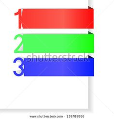 number 123 infographic  red, tag, web, set, 123, art, page, sign, card, icon, blue, text, green, blank, clean, label, three, color, paper, layout, vector, symbol, shadow, modern, object, number, design, banner, silver, website, concept, graphic, element, business, template, brochure, creative, backdrop, bookmark, collection, background, infographic, illustration