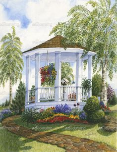 Garden Gazebo | Art Licensing