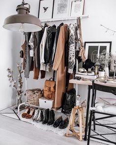 No closet? No problem...