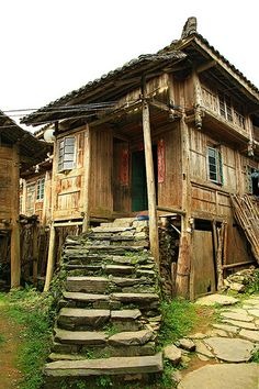 ˚House at Dazhai Village - China
