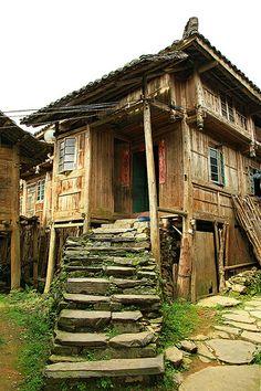 ˚House at Dazhai Village - China