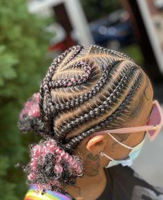 Kids Braided Hairstyles, Black Girls Hairstyles, Braids Ideas, Braids For Kids, Braid Styles, Protective Styles, Hair Color, Random, Nails