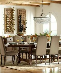 Pottery Barns Dining Room Sets Blend Classic Style And Heirloom Quality Character Find Furniture Create A Stylish Space