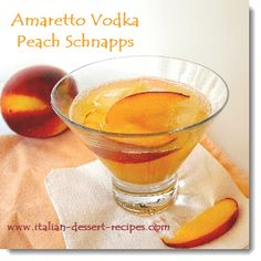 Amaretto Vodka Peach Schnapps.   Another creative amaretto drink.