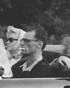 Questione di stile. È tutto. ❤️ #MarilynMonroe & #ArthurMiller