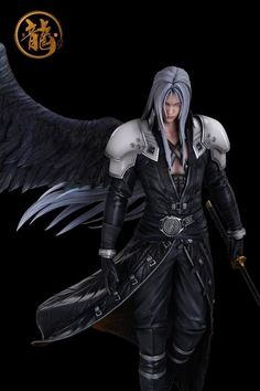 Final Fantasy Vii, Why I Love Him, Character Base, Cool Artwork, Beautiful Boys, Finals, Anime, Handsome, Things To Come