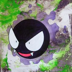 Gastly by OneSevenOne.deviantart.com on @deviantART