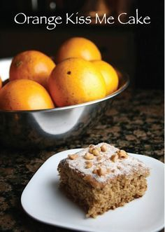 Orange Kiss Me Cake won the 2nd Pillsbury Bake-Off contest in 1950. It's like and fluffy with a delicate orange flavor. #yum