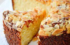 Tarta de ricotta y almendras. Sin harina. Sin gluten. Receta fácil. Sweet Recipes, Cake Recipes, Cheesecake, Baking Cupcakes, Recipe For 4, Healthy Sweets, Sin Gluten, Gluten Free, Sweet And Salty
