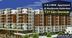 """""""Buy #2bhk and #3bhk flats for sale in #Manikonda, Hyderabad from http://Homesulike.com. Size Range: 836-2531 Sq.ft Prize Range: 27Lacs To 82Lacs For more details click on http://www.homesulike.com/index.php/projects/viewdetails/Green-Living Call us 040-66666616 for site visit. """"""""Hit like and share if you are interested in this property."""""""""""""""
