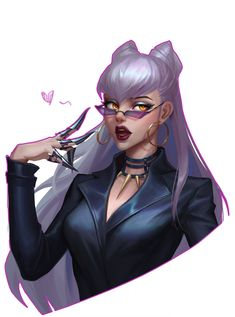 Evelynn League Of Legends, League Of Legends Characters, Female Characters, Fictional Characters, Bambi, Painted Fan, Waifu Material, Riot Games, World Of Warcraft