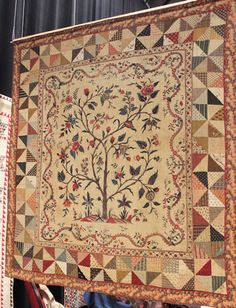 a real antique Dutch quilt from the private collection of Joes Master .