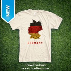 Proudly wear your favorite country! This beautiful German Flag t-shirt is printed on the softest t-shirt you'll ever wear. T Shirt World, Travel Souvenirs, Flags Of The World, Germany Travel, Travel Style, Trending Outfits, Printed, Country, Mens Tops