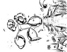 #DailySketch Megaman.Original available in my shophttp://skottieyoungstore.bigcartel.com