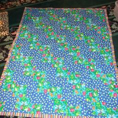Happy Quilts For The Cancer Kids At Loma Linda /// crafts // 3rdRevolution
