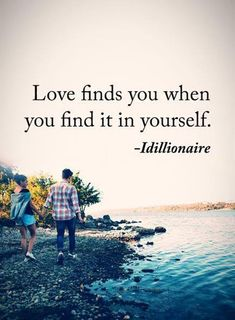 cool Cute Love Quotes from The Heart Love Finds You When You Find