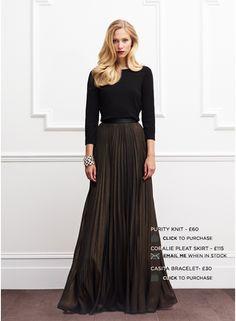 Haider Ackermann | Contrast pleated maxi skirt | Lane Crawford ...