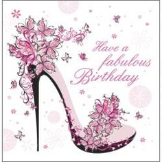 stiletto birthday card - Google Search