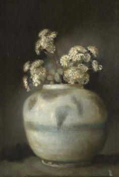 Pieter Knorr(Dutch, b.1950)  Sedum2011  Olieverf op paneel