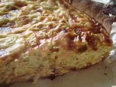 IG bas et gourmand en cuisine! DIAB & BON & GOURMAND !: PLAT UNIQUE tarte poireaux et saumon
