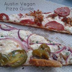 Austin Vegan Pizza Guide... Lone Star Plate