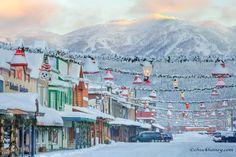 Winter in Whitefish, Montana