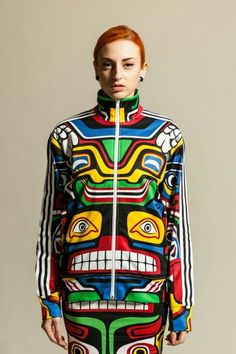 Jeremy Scott, Adidas, Totem inspired Collection www.fashion.net