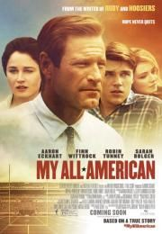 My All American on DVD February 2016 starring Aaron Eckhart, Finn Wittrock, Sarah Bolger. What Freddie Steinmark (Finn Wittrock) wants most in the world is to play football. Deemed too small by the usual athletic standards, his f Film 2015, 2015 Movies, Hd Movies, Movies To Watch, Movies Online, Movie Tv, Netflix Online, Romance Movies, Finn Wittrock